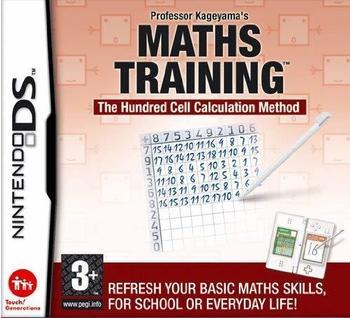 Nintendo Professor Kageyamas Maths Training, NDS