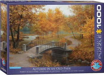 Eurographics 6000-0979 - Herbst im alten Park von Eugene Lushpin, Puzzle