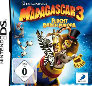 Madagascar 3: Flucht durch Europa (DS)