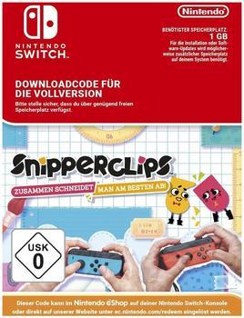 Snipperclips: Zusammen schneidet man am besten ab! (Switch)