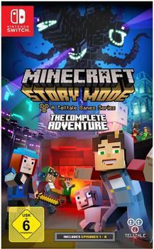 Minecraft: Story Mode - A Telltale Games Series - The Complete Adventure (Switch)