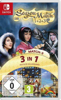 Season Match HD + Season Match 2 HD + Season Match 3 HD (Switch)