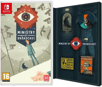 Ministry of Broadcast: Badge Edition (Switch)