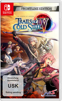 The Legend of Heroes: Trails of Cold Steel 4: Frontline Edition (Switch)