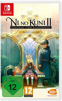 Bandai Namco Entertainment Ni No Kuni 2: Schicksal eines Königreichs - Priinces Edition (Switch)