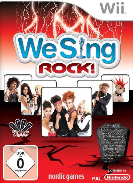 We Sing Rock! (Wii)