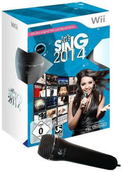 Let's Sing 2014 + 2 Mikrofone (Wii)