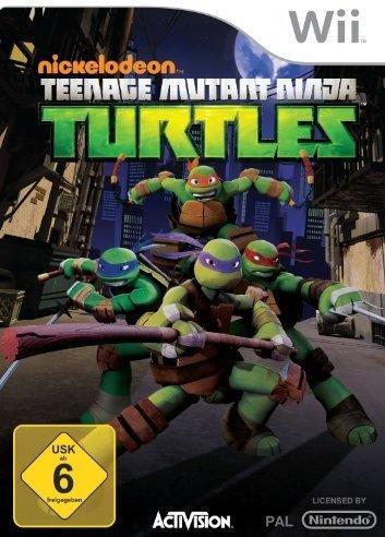 Nickelodeon Teenage Mutant Ninja Turtles (Wii)