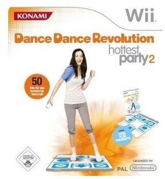Konami Dance Dance Revolution: Hottest Party 2 inkl. Tanzmatte (Wii)