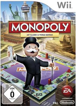 Monopoly: Mit Classic & World Edition (Wii)