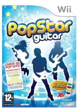 Midway PopStar Guitar (PEGI) (Wii)