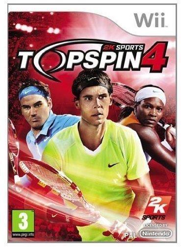 2K Sports Top Spin 4 (PEGI) (Wii)