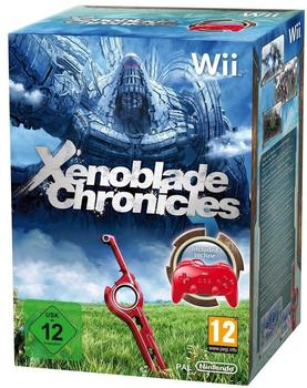 Xenoblade Chronicles + Classic Controller rot (Wii)