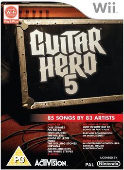 Activision Guitar Hero 5 [UK Import] (Wii)