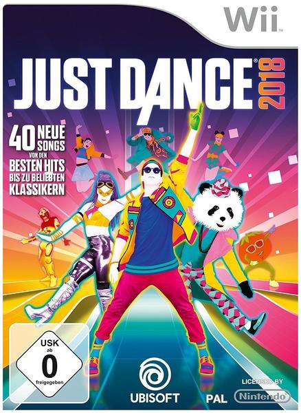 UbiSoft Just Dance 2018 (Wii)