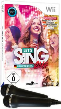 Let's Sing 2017 + 2 Mikrofone (Wii)