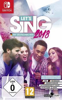 Let's Sing 2018 mit Deutschen Hits (Switch)