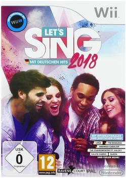 Let's Sing 2018 mit Deutschen Hits (Wii)