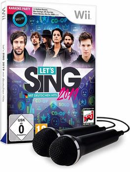 Ravenscourt Lets Sing 2019 mit deutschen Hits [+ 2 Mics] (Wii)