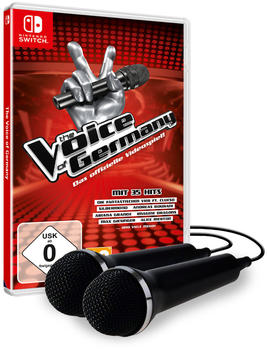 The Voice of Germany + 2 Mikrofone (Switch)