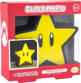 Paladone Super Mario Super Star Leuchte mit Sound