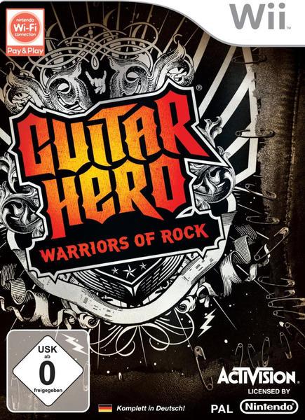 Guitar Hero - Warriors of Rock (Wii)