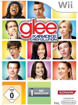 Konami Karaoke Revolution Glee Vol.1 + Mikrofon (Wii)