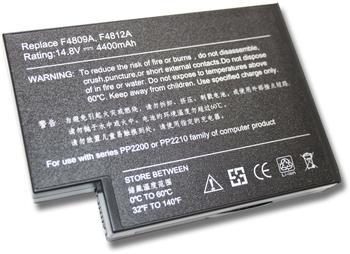 DNX Akku kompatibel für Computer Laptop HP Compaq Evo N1010319411-001, 14.4V, 4800mAh, note-x/DNX