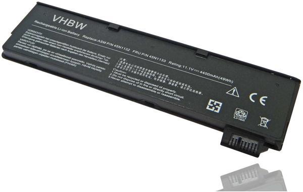 vhbw Li-Ion Akku 4400mAh (11.1V) für Netbook Pad Tab Tablet Lenovo Thinkpad T440, T440s wie 45N1124