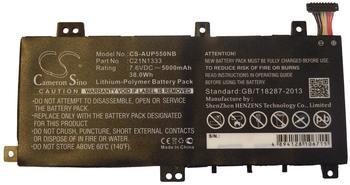 vhbw Li-Polymer Akku 5000mAh (7.6V) für Notebook Laptop Asus Transformer Flip TP550LA, TP550LD wie