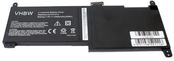 vhbw Li-Polymer Akku 4400mAh (7.5V) für Notebook Laptop Asus Transformer Book Trio TX201, Trio Tx20
