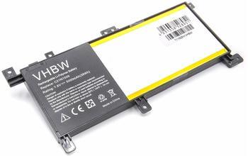 vhbw Li-Polymer Akku 5000mAh (7.6V) schwarz für Notebook Laptop Asus X556, X556UA, X556UB, X556UF w