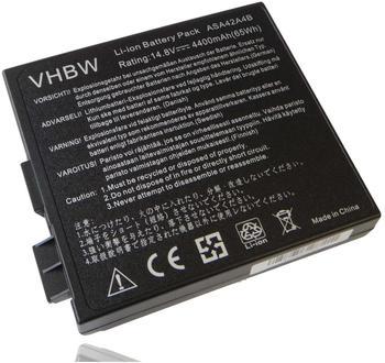 vhbw Akku 4400mAh (14.8V) für Notebook, Laptop Asus A4, A4000 wie 70-N9X1B1000, 90-N9X1B1000, A42-A