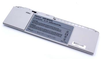 vhbw Li-Polymer Akku 4200mAh (11.1V) für Notebook Laptop Sony Vaio Svt-13122Cxs, Svt-13124Cxs, Svt-
