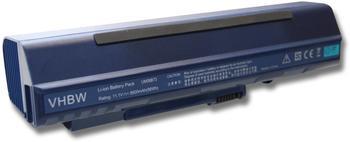 vhbw PURE⚡POWER Extended Laptop Akku für Gateway LT2022u, 11.1V schwarz,