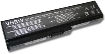 DNX Akku kompatibel für Computer Laptop Toshiba Satellite L775-13T, 10.8V, 4800mAh, note-x/DNX