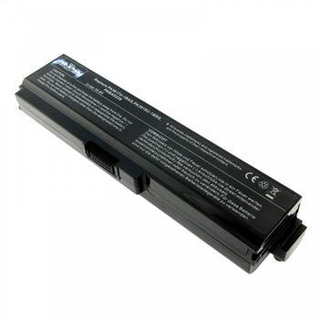 Purepower PURE⚡POWER EXTENDED Laptop Akku für Toshiba Satellite (10.8V, schwarz,