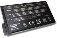 vhbw PURE⚡POWER Laptop Akku für HP Compaq nc6000-DZ492PA (10.8V, 4400 mAh, schwarz,