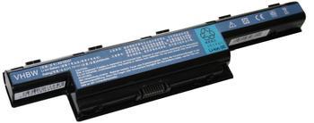 vhbw AKKU LI-ION 4400mAh 11.1V in schwarz black passend für Packard Bell Easynote LM81 etc. ersetzt 31CR19/652
