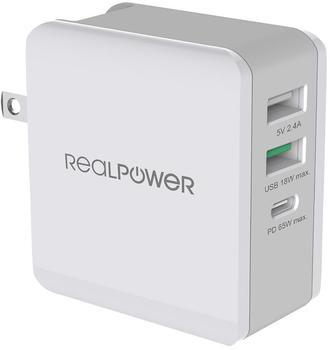 RealPower RealPower DeskCharge-65 Travel