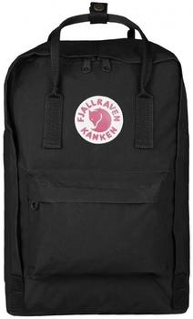 "Fjällräven Kånken Laptop 15"" black/ox red"