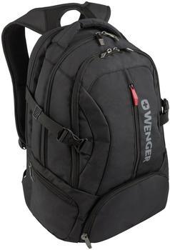 """Wenger Transit Laptop Backpack 16"""" black"""