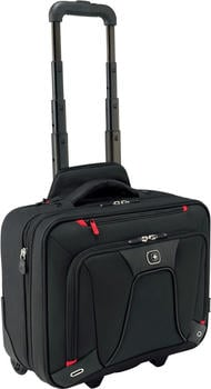 "Wenger Transfer Expandable Wheeled Laptop Case 16"" black"