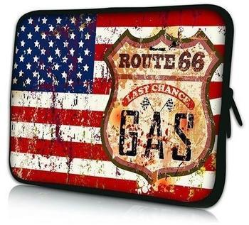 Pedea 66060464 Stars und Stripes Design Neopren Notebooktasche 39,6 cm (15,6 Zoll)
