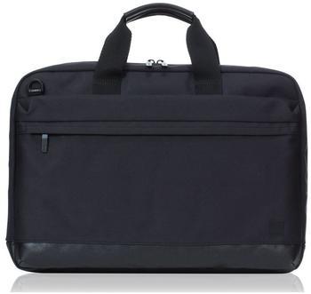 Knomo Turin schlanke Laptop-Aktentasche 15 Zoll, schwarz