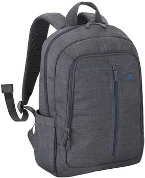 "Rivacase Laptop Canvas Backpack 15,6"" grey (7560)"