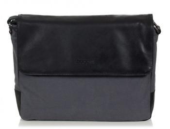 BUGATTI Urbano Messenger Bag Medium grau