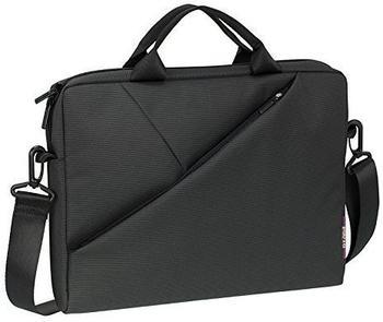 """RivaCase® RIVACASE Tasche für Notebooks bis 13.3"""" - Sehr flache Laptoptasche mit gepolsterten Fächern und viel Stauraum - Grau"""