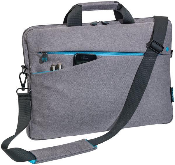 PEDEA 66063019 Notebooktasche 33,8 cm 13,3 Zoll) Messengerhülle Grau