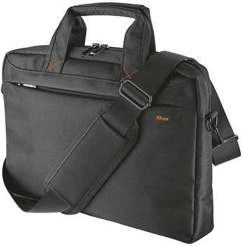 Trust Bari schlanke 13,3 Zoll Laptoptasche (für Notebooks mit Bildschirmdiagonale bis 33,8 cm (13,3 Zoll)) schwarz